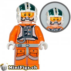 Lego mini figurine Wedge Antilles (75098)