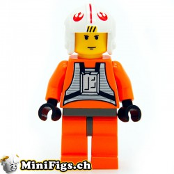 Luke Skywalker (Pilote) LEGO mini-figur sw019