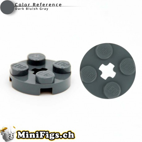 Plate, Round 2x2 with Axle Hole - 4032 dbg